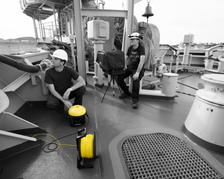 Underwater Inspections with ROV of Ship Structures