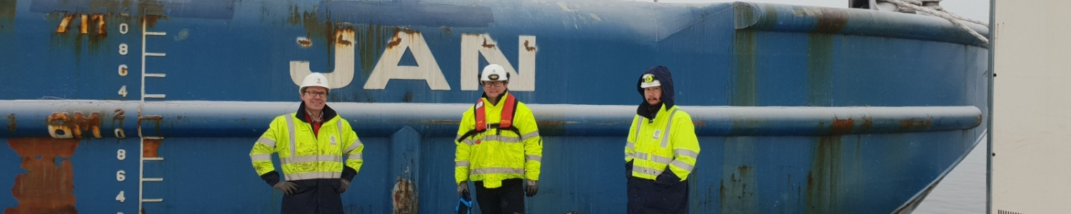 "CSpect performed an under water inspection on the pontoons ""jan"" and ""Caroline"" to the great satisfaction of Sarens."