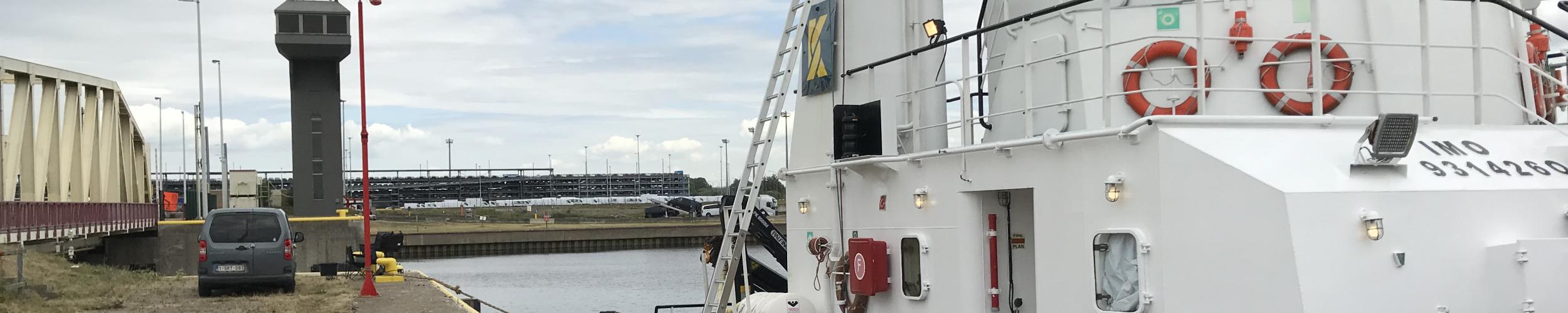 Sea Tug inspection in the Port of Zeebrugge for Kotug Smit