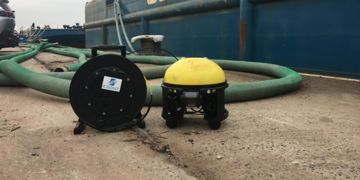 Underwater inspection with Remotely Operated Vehicles